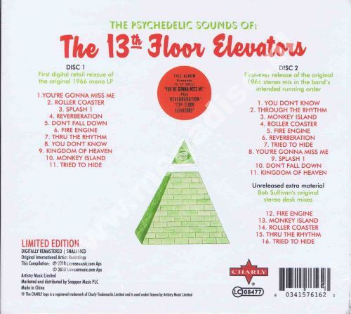 Psychedelic sounds of deluxe mono stereo edition 2cd for 13th floor uk