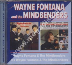 WAYNE FONTANA AND THE MINDBENDERS - 1st / Eric, Rick, Wayne, Bob - UK BGO
