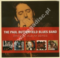 PAUL BUTTERFIELD BLUES BAND - Original Albums (1965 -1969) - UK Card Sleeve 5CD Box