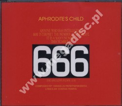 APHRODITE'S CHILD - 666 (2CD) - POSŁUCHAJ