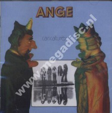 ANGE - Caricatures - French Card Sleeve - POSŁUCHAJ