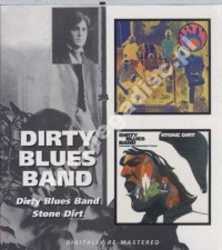 DIRTY BLUES BAND - Dirty Blues Band / Stone Dirt - UK BGO Remastered