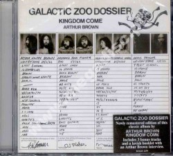 ARTHUR BROWN KINGDOM COME - Galactic Zoo Dossier - UK Esoteric Expanded - POSŁUCHAJ