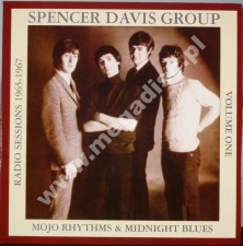 SPENCER DAVIS GROUP - Mojo Rhythms And Midnight Blues Volume 1 - Radio Sessions 1965 - 1967 - UK 1st Press (LP - PŁYTA WINYLOWA)