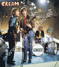 PLAKAT CREAM - Live on TV 1967 (50cm x 42cm)