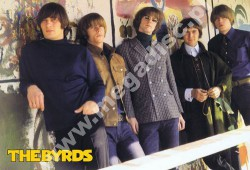 PLAKAT THE BYRDS - 1966 'Sanctuary' Promo (34cm x 50cm)