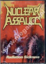 NUCLEAR ASSAULT - Radiation Sickness - Live At Hammersmith Odeon (DVD)