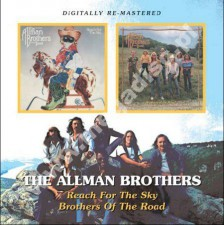 ALLMAN BROTHERS BAND - Reach for the Sky/Brothers of the Road (1980-1981) - UK BGO