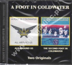A FOOT IN COLDWATER - Second Foot In Coldwater / All Around Us - EU Edition - POSŁUCHAJ - VERY RARE