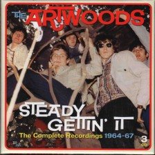 ARTWOODS - Steady Gettin' It - The Complete Recordings 1964-67 (3CD) - UK RPM