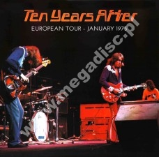 TEN YEARS AFTER - European Tour - January 1973 - Recorded Live Outtakes 2LP - FRA Verne - POSŁUCHAJ - VERY RARE