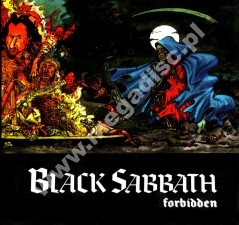 BLACK SABBATH - Forbidden +1 - BRA Limited Press