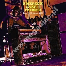 EMERSON LAKE & PALMER - Live In Brussels 1971 - UK Far Out Limited Press - POSŁUCHAJ