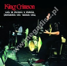 KING CRIMSON - Live In Detroit & Denver (November 1971 - March 1972) (2LP) - FRA Verne - POSŁUCHAJ