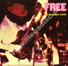 FREE - In Concert 1970 - Rare And Unreleased Live Tracks (2LP) - FRA Verne