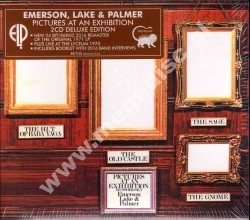EMERSON LAKE & PALMER - Pictures At An Exhibition + Live At The Lyceum Theatre, London, December 1970 (2CD) - EU Deluxe Remastered Expanded Edition - POSŁUCHAJ