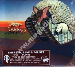 EMERSON LAKE & PALMER - Tarkus (2CD) - EU Deluxe Remastered Expanded Edition