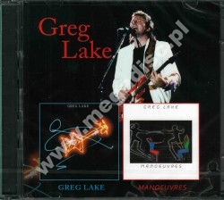 GREG LAKE - Greg Lake / Manoeuvres (2CD) - UK Remastered