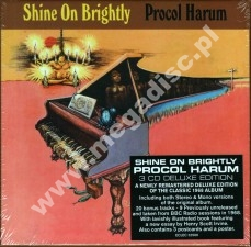 PROCOL HARUM - Shine On Brightly (3CD Box) (Stereo + Mono Mixes + 20 Rare Tracks) - UK Esoteric Remastered & Expanded - POSŁUCHAJ