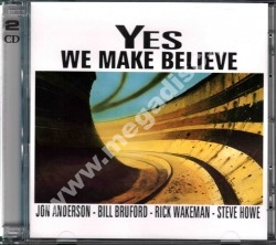 YES / ANDERSON BRUFORD WAKEMAN HOWE - We Make Believe - Unreleased 2nd Album (2CD) - EU RARE LIMITED Edition