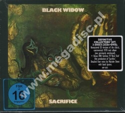 BLACK WIDOW - Sacrifice (2CD) + Live At Beat-Club 1970 DVD - POSŁUCHAJ - GER Repertoire Digipack