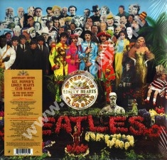 THE BEATLES - Sgt. Pepper`s Lonely Hearts Club Band STEREO NEW MIX + Unreleased Tracks and Mixes (2LP) - 50th Anniversary Edition