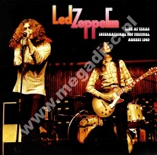 LED ZEPPELIN - Live At Texas International Pop Festival, August 1969 - EU Open Mind Limited Press - POSŁUCHAJ