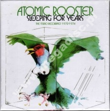 ATOMIC ROOSTER -  Sleeping For Years - Studio Sessions 1970-1974 (first 5 albums and more) 4CD BOX - UK Esoteric - POSŁUCHAJ