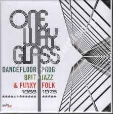 VA - One Way Glass - UK Dancefloor Prog, Brit Jazz & Funky Folk 1968-1975 3CD BOX - UK RPM