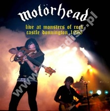 MOTORHEAD - Live At Monsters Of Rock - Castle Donnington 1986 - EU Dead Man Limited