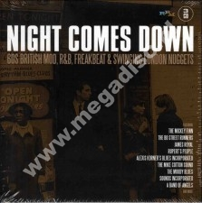 VARIOUS ARTISTS - NIGHT COMES DOWN - 60s British Mod, R&B, Freakbeat & Swinging London Nuggets (3CD) - UK RPM