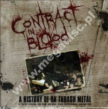 VARIOUS ARTISTS - CONTRACT IN BLOOD - History Of UK Thrash Metal (5CD) - UK Cherry Red