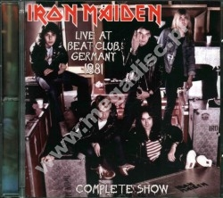 IRON MAIDEN - Live At Beat-Club Germany 1981 - Complete Show - EU RARE LIMITED Press - POSŁUCHAJ