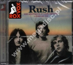 RUSH - Live At Kiel Auditorium, St Louis, 14th February 1980 - UK Limited Press