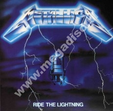 METALLICA - Ride The Lightning - Remastered Card Sleeve
