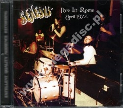 GENESIS - Live In Rome April 1972 - SPA Top Gear Limited Press - POSŁUCHAJ