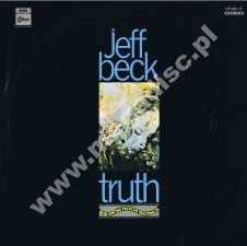 JEFF BECK - Truth - JAPAN Odeon 1968 Red Vinyl 1st Press