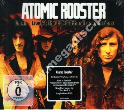 ATOMIC ROOSTER - On Air - Live At The BBC & Other Transmissions (2CD + DVD) - GER Repertoire