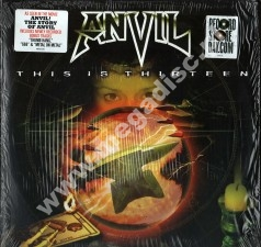 ANVIL - This Is Thirteen (2LP) - US RSD Record Store Day 2009 Press