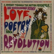 Love, Poetry And Revolution - Journey Through The British Psychedelic And Underground Scenes 1966-72 - UK Grapefruit