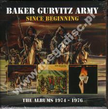 BAKER GURVITZ ARMY - Since Beginning - Albums 1974 - 1976 (3CD) - UK Esoteric Expanded Edition - POSŁUCHAJ