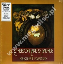EMERSON LAKE & PALMER - Live At Pocono International Raceway, U.S.A., 8th July 1972 (2LP) - RSD Record Store Day 2019 Limited Press - POSŁUCHAJ
