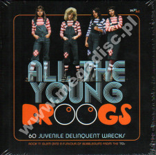VARIOUS ARTISTS - All The Young Droogs - 60 Juvenile Delinquent Wrecks - Rock 'N' Glam (And A Flavour Of Bubblegum) From The '70s (3CD) - UK RPM - POSŁUCHAJ