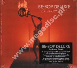 BE-BOP DELUXE - Sunburst Finish +7 (2CD) - UK Esoteric Remastered Expanded -
