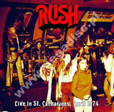 RUSH - Live In St. Catharines, April 1974 + 4 bonus tracks - FRA Verne Press - POSŁUCHAJ