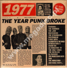 VARIOUS ARTISTS - 1977 - Year Punk Broke (3CD) - UK Cherry Red Records