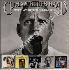 CLIMAX BLUES BAND - Albums 1969-1972 (5CD) - UK Esoteric Expanded Edition