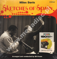 MILES DAVIS - Sketches Of Spain - EU WaxTime In Color Limited 180g Press - POSŁUCHAJ
