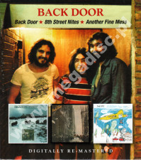 BACK DOOR - Back Door / 8th Street Nites / Another Fine Mess (3LP on 2CD) - UK BGO Remastered - POSŁUCHAJ