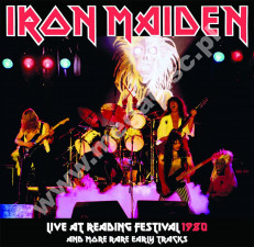 IRON MAIDEN - Live At Reading Festival 1980 And More Rare Early Tracks - EU Verne Limited Press - POSŁUCHAJ - VERY RARE